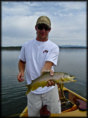 Fly fishing writing and photography for Hebgen lake fishing report